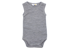 Joha body light grey melange no sleeves